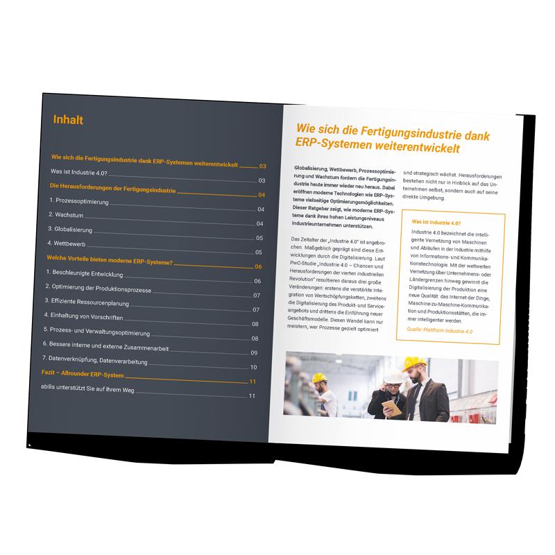 """SAP HANA Ratgeber """"Wie sich die Fertigungsindustrie dank ERP-Systemen weiterentwickelt"""""""