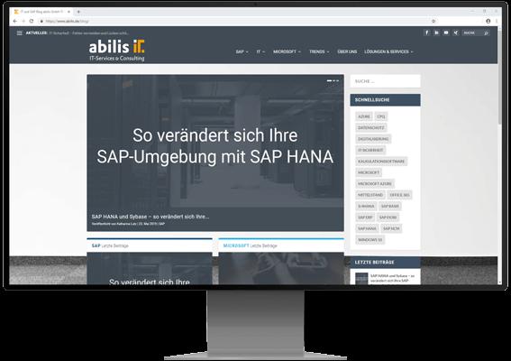 SAP HANA und SAP S/4HANA Expertenwissen auf unserem Blog