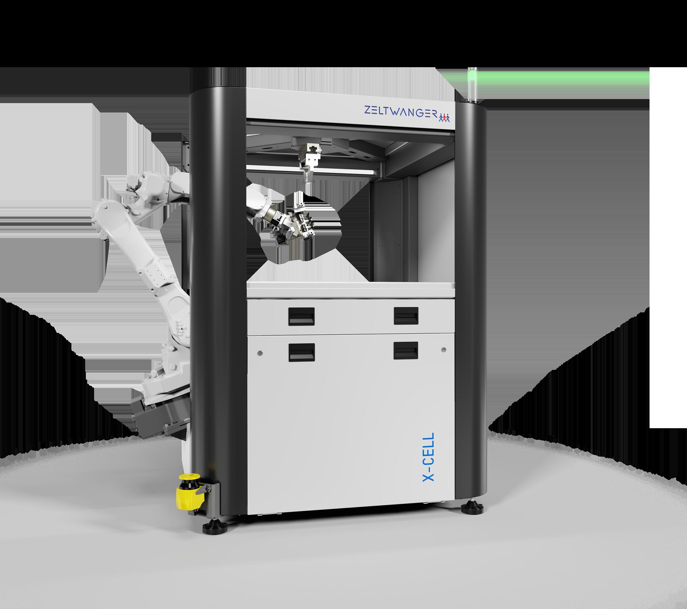 ZELTWANGER X-Cell WB – Werkzeugmaschinenbeladung